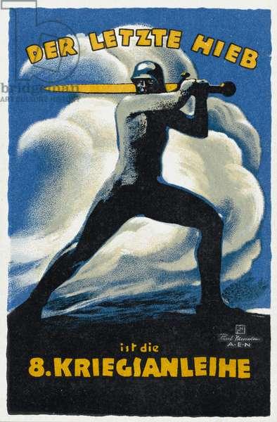 German First World War Propaganda Poster