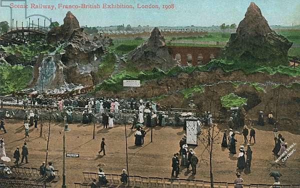 The Scenic Railway - Franco-British Exhibition, London