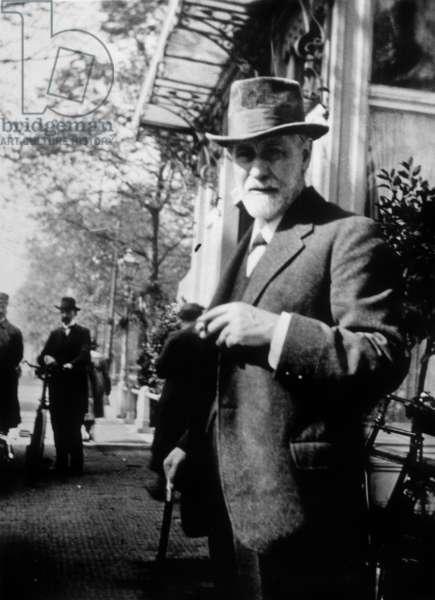 Sigmund Freud, 1920