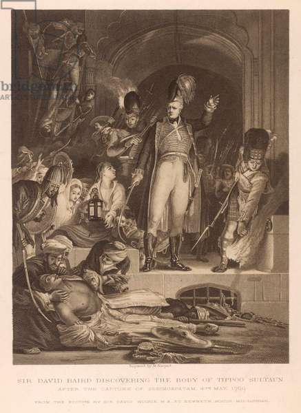 DEATH OF TIPPOO SAHIB