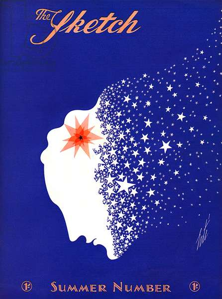 The Sketch front cover by Erte