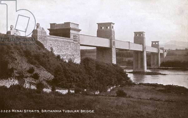 Britannia Tubular Bridge - Menai Straits