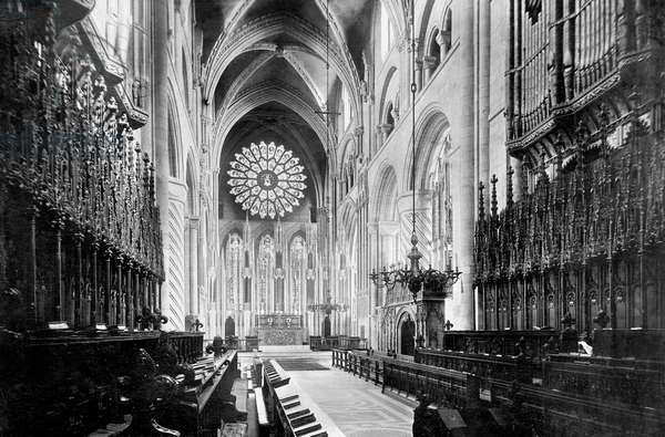 Durham, the Cathedral Choir, East 1892