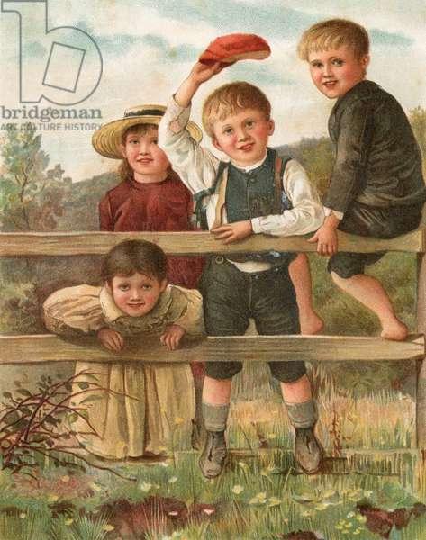 COUNTRY CHILDREN/TRAINS