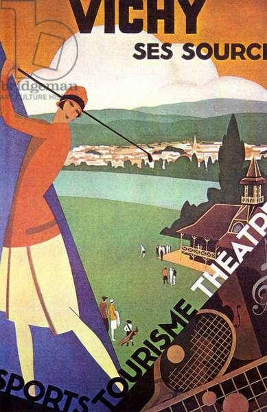 Le golf a Vichy