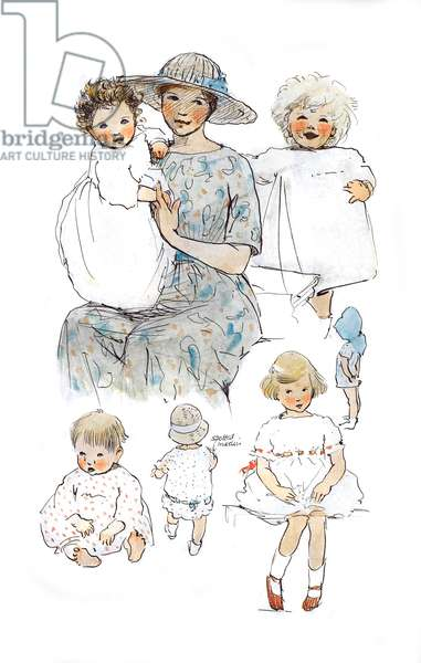 A Sketchbook - Mothers and Children