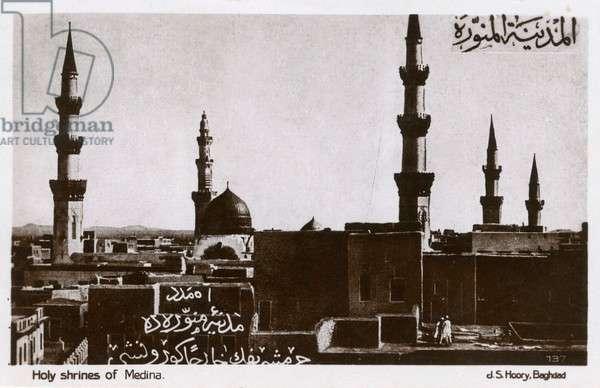 Al-Masjid al-Nabawi - Medina, Saudi Arabia