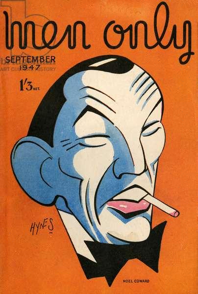Cover design, Men Only, Noel Coward