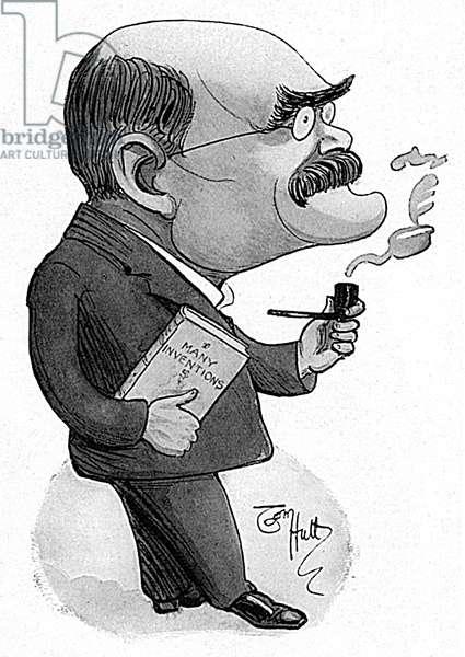 Rudyard Kipling by Tom Hutt