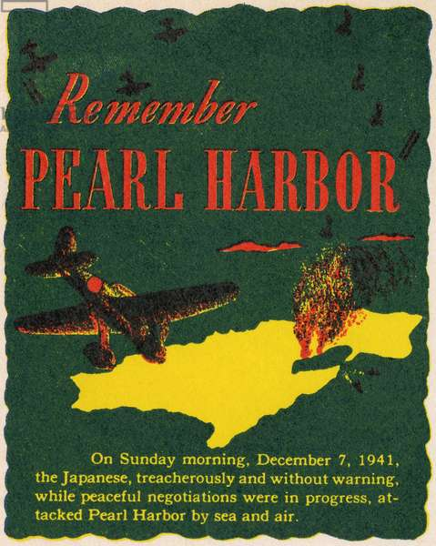 WWII - Remember Pearl Harbour
