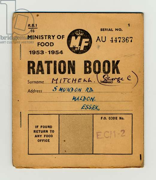 RATIONING 1953-54