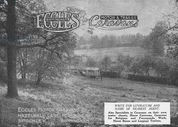 Eccles Caravans advertisement