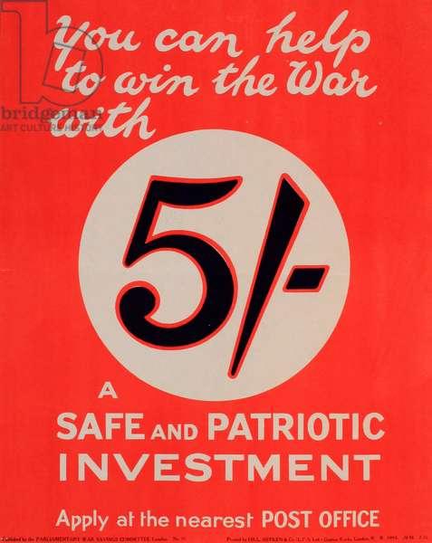 WW1 War Loan poster