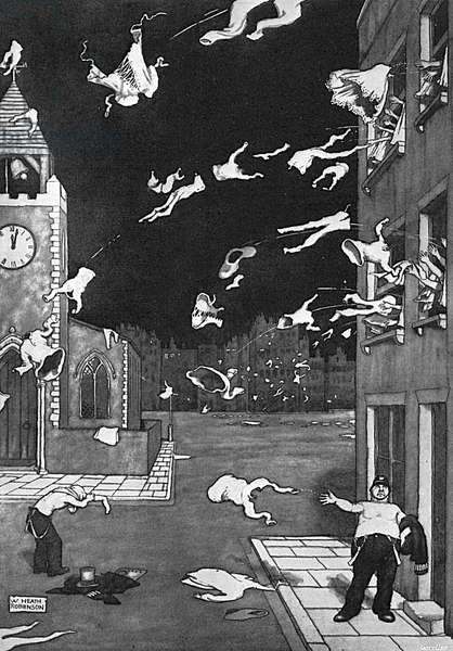 When May is Out by William Heath Robinson