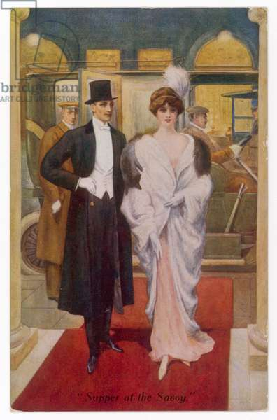 COUPLE/SAVOY SUPPER 1920