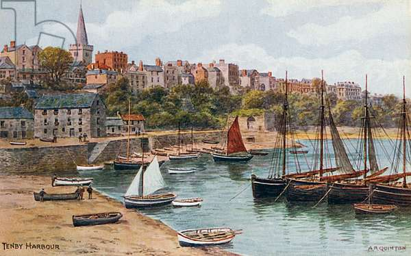 Tenby Harbour - Wales