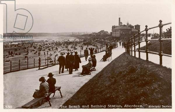 ABERDEEN/BEACH 1920S?