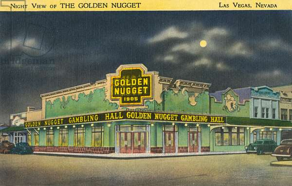 The Golden Nugget, Las Vegas, Nevada, USA