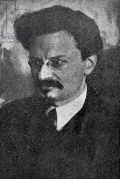 Portrait photograph of Leon Trotsky