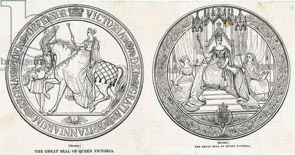 QUEEN VICTORIA/HER SEAL