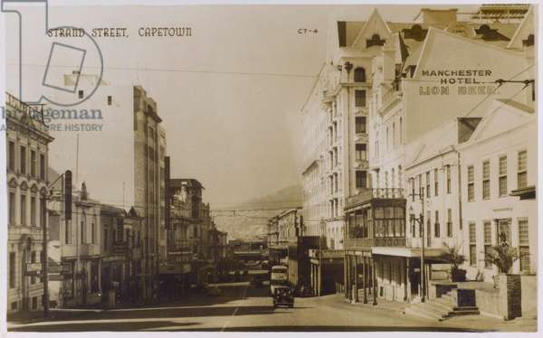 Strand Street, Capetown, South Africa