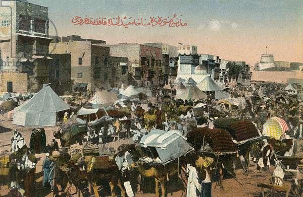 Medina - Saudi Arabia - Hejaz Menaha Square - Caravan