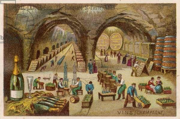 Cave de champagne
