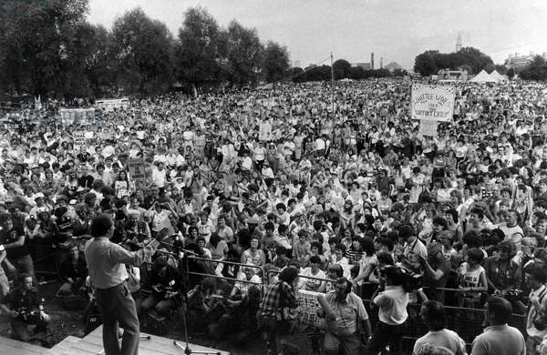 Miners wives rally 1984