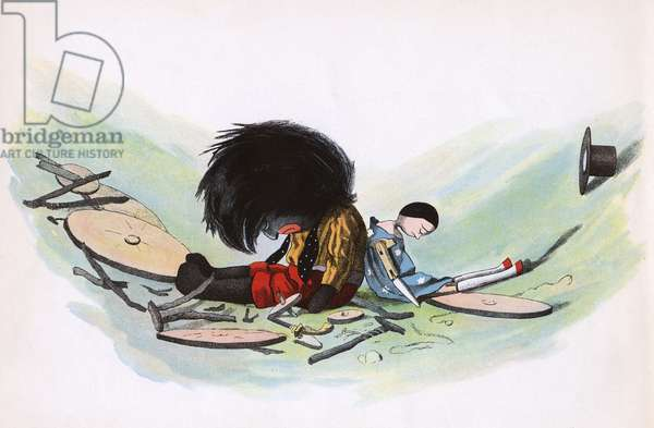 The Golliwogg's Bicycle Club - Crash at bottom of Mountain!