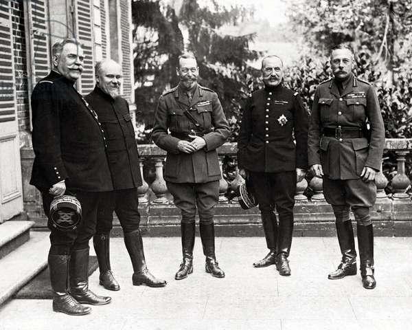 George V in France