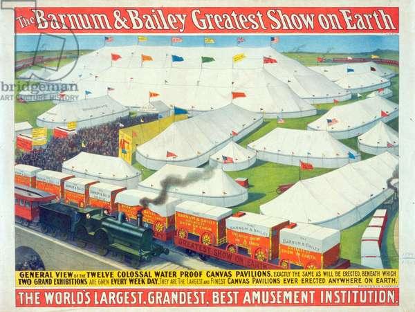 The Barnum & Bailey greatest show on Earth, the world's larg