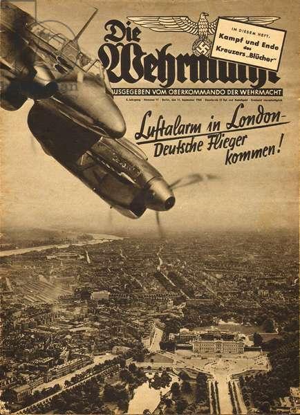 German air raids over London, WW2