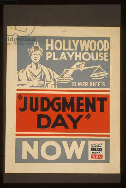 Elmer Rice's Judgment day Elmer Rice's Judgment day