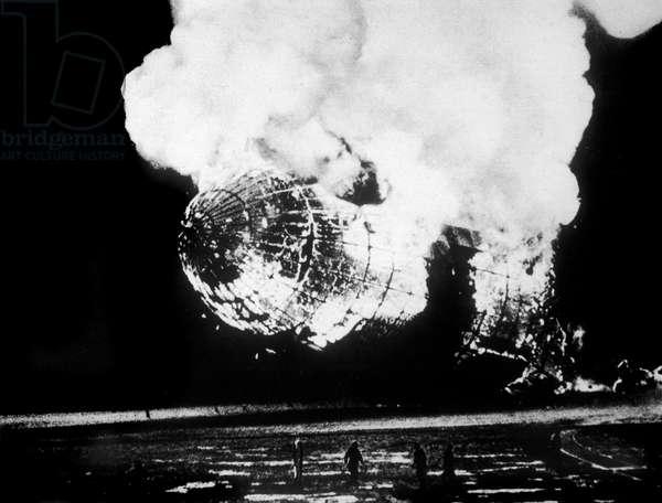 Catastrophe du zeppelin Hindenburg