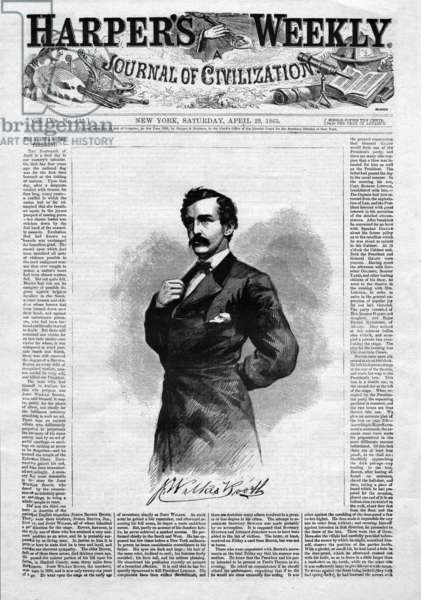 Abraham Lincoln\'s assassin, John Wilkes Booth