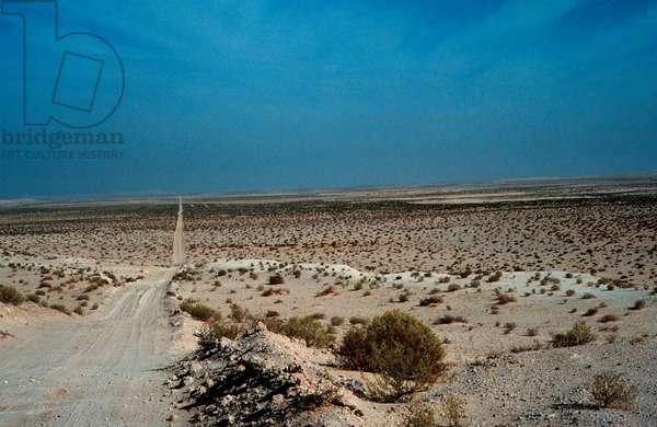 Track to Arabia's interior