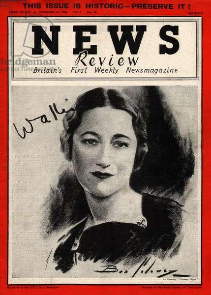 Mrs Wallis Simpson
