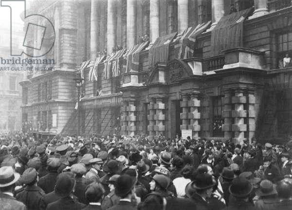 Armistice, 1918