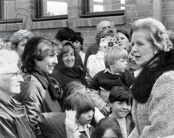 Prime Minister Margaret Thatcher - Marazion Community Centre