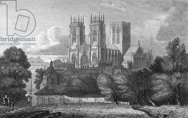 York Minster, 1819.