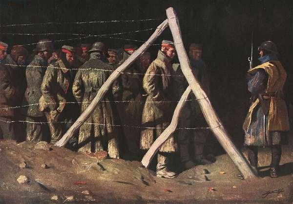 WWI/GERMAN PRISONERS