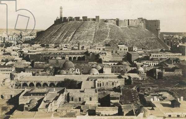 Aleppo - Syria - The 13th century Citadel
