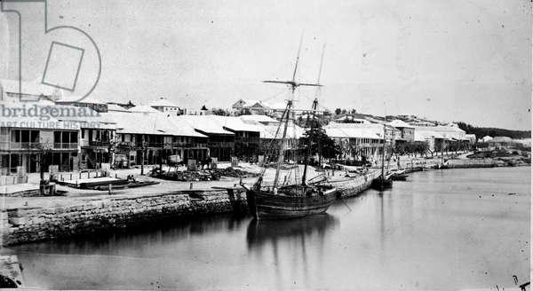 Hauptstrasse, Hamilton, Bermuda 1873