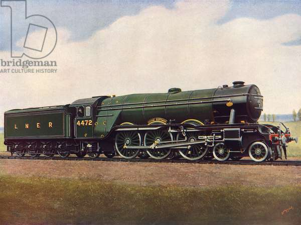 The Flying Scotsman No. 4472, LNER.