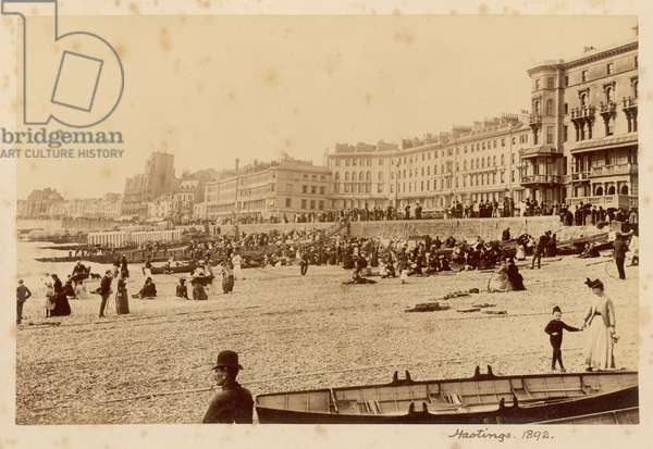 HASTINGS/BEACH 1892