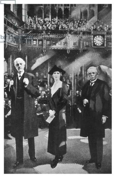 ASTOR AS 1ST WOMAN MP