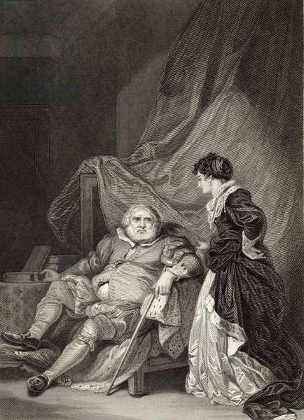 Henri VIII and Catherine Parr