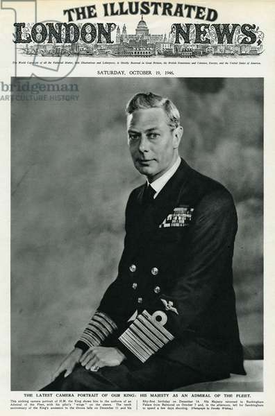 King George VI as Admiral of the Fleet