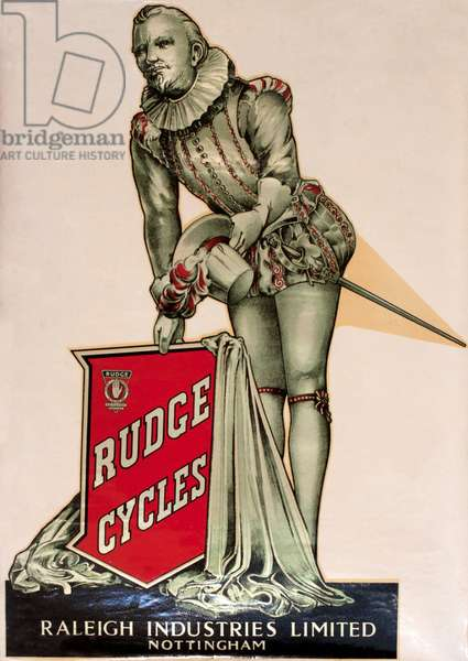 Poster, Rudge Cycles