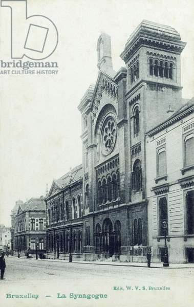 The Synagogue, Brussels, Belgium